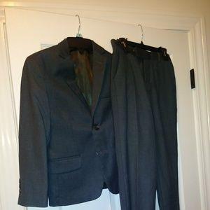 Calvin Klein Boy Suit, Grey, size 8